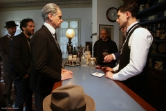 LOOKING FOR NEGRONI_Claudio Bigagli (Conte) e Matteo Giacinti (Scarselli)