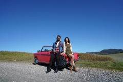 Auto nelle colline toscane_RED