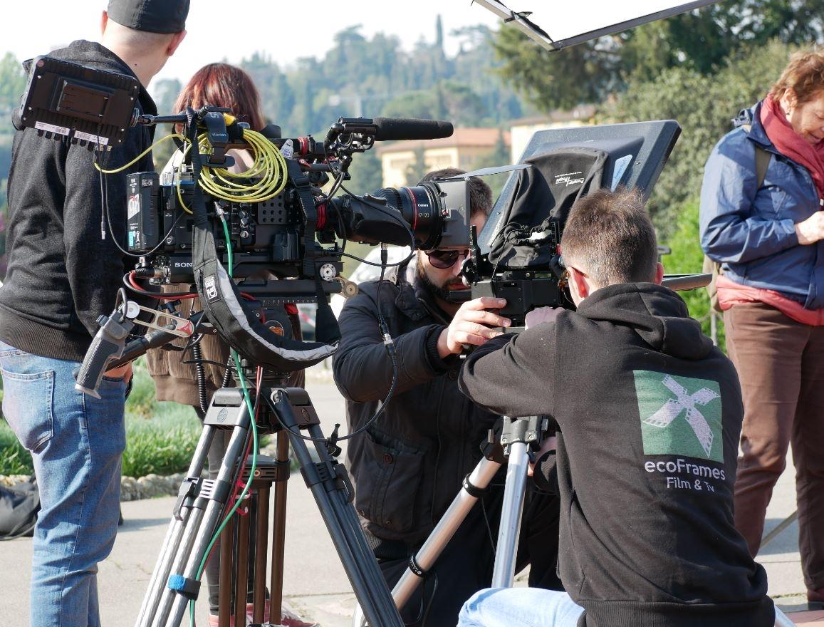 ecoframes cbs camera crew