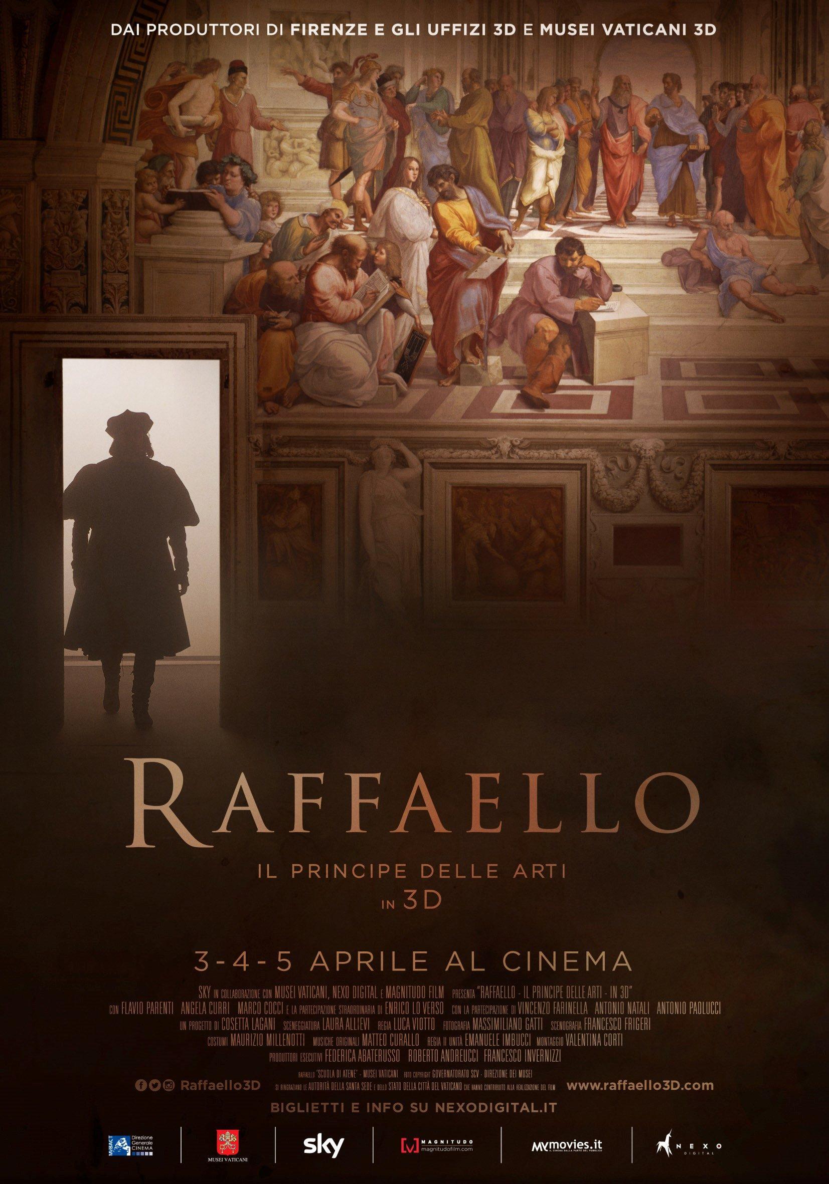 Locandina del film Raffaello il principe delle arti