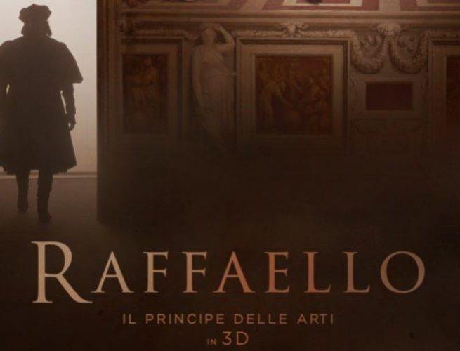 Locandina Raffaello Il principe delle arti 3D