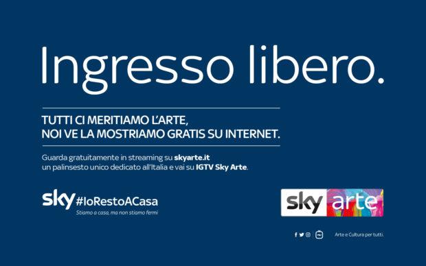 SkyArte_IngressoLibero_Cartello_3-620x388
