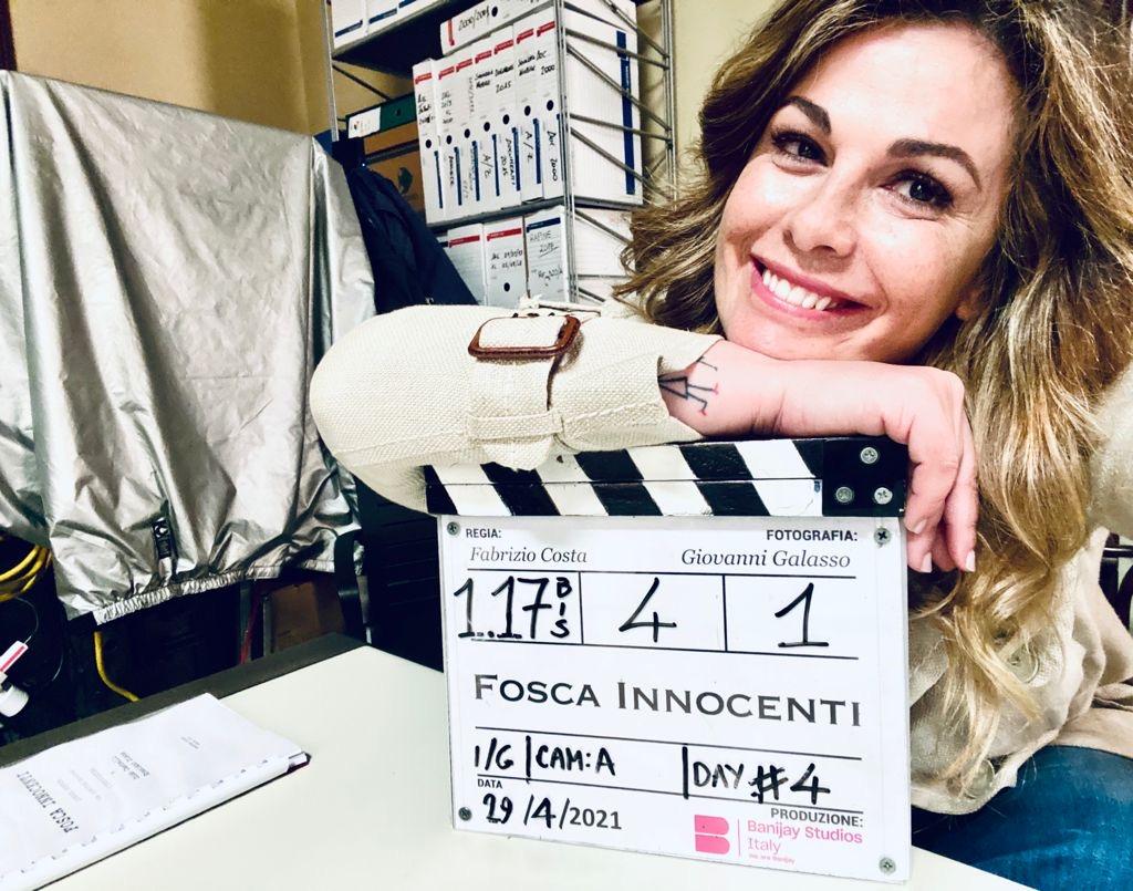 Vanessa Incontrada - serie tv FOSCA INNOCENTI prodotta da Banijay Studios Italy per Mediaset