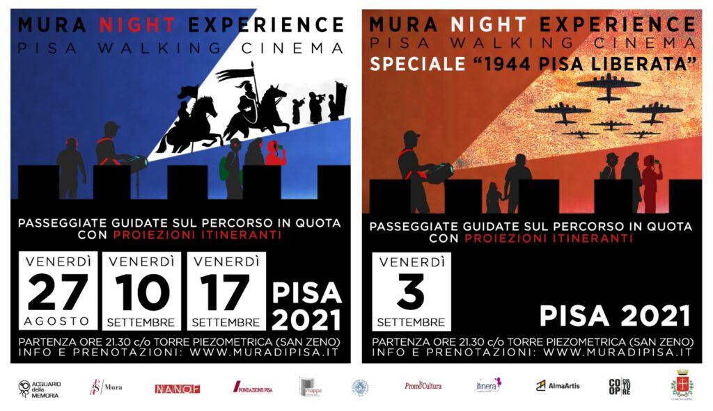 Mura di Pisa Night Experience Locandina